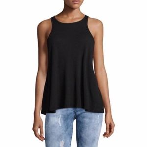 Free People Intimately Black Tank Top